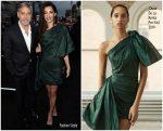 """Amal Clooney  In Oscar De La Renta @ LA Premiere Of Hulu's """"Catch-22"""""""