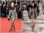 "Amira Casar  In Christian Dior  @ Dead Don't Die"" Cannes Film Festival Premiere"