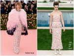 Anna Wintour  In Chanel Couture @ 2019 Met Gala