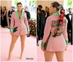 Ashley Graham  In Gucci x Dapper Dan @ 2019 Met Gala