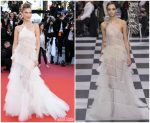 "Bella Hadid  In Christian Dior Couture  @ ""Rocketman"" Cannes Film Festival Premiere"