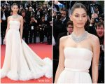"Camila Morrone In Miu Miu @ ""Once Upon a Time in Hollywood""  Cannes Film Festival Premiere"