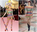 Cara Delevingne In  Christian Dior Couture  @ 2019 Met Gala