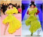 Charli XCX  In Jean Paul Gaultier  Haute Couture @ 2019 Met Gala