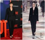 Charlize Theron In Christian  Dior Couture  @ 'Long Shot' New York Premiere