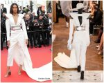 "Cindy Bruna  In Balmain  @ ""Le Belle Époque""Cannes Film Premiere"