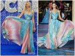 "Claudia Schiffer In Zuhair Murad  Couture @  ""Rocketman"" London Premiere"