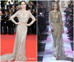 "Coco Rocha  In Elie Saab Haute Couture @ ""Once Upon a Time in Hollywood"" Cannes Film Festival Premiere"