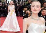 Dakota Fanning In Armani Prive @ 'Once Upon a Time In Hollywood' Cannes Film Festival Premiere