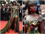 """Duckie Thot  In Vivienne Westwood @  """"Once Upon a Time in Hollywood""""  Cannes Film Festival Premiere"""