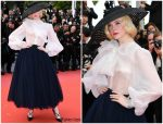 "Elle Fanning  In Christian Dior Haute Couture @ ""Once Upon a Time in Hollywood""  Cannes Film Festival Premiere"