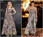 Elle Fanning  In Christian Dior @ Kering Women In Motion Cannes Awards