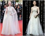 Elle Fanning  In Reem Acra @ Cannes Film Festival Closing Ceremony