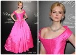 Elle Fanning In Vivienne Westwood Couture @ 'Love Night' Chopard Gala