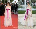 """Élodie Bouchez  In Chanel  @ """"Oh Mercy! (Roubaix, Une Lumière)"""" Cannes Film Festival Premiere"""