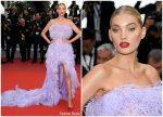 "Elsa Hosk  In Alberta Ferretti @ ""Sibyl""  Cannes Film Festival Premiere"