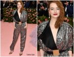 Emma Stone In Louis Vuitton @ 2019 Met Gala