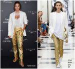 Eva Longoria In Victoria Beckham @ Kering's Women in Motion Talks Event  @ Cannes 2019