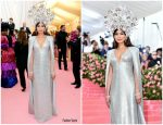 Gemma Chan  In Tom Ford @ 2019 Met Gala
