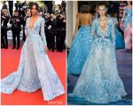 "Jasmine Tookes  In Zuhair Murad  Couture @ Traitor"" Cannes Film Festival Premiere"