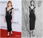 """Jessica Chastain  In Zuhair Murad @  """"X-Men: Dark Phoenix"""" Fan Event in London"""