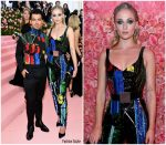 Joe Jonas & Sophie Turner  both  In Louis Vuitton @ 2019 Met Gala