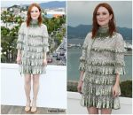 Julianne Moore In Valentino @ 'The Staggering Girl' Cannes Film Festival Photocall