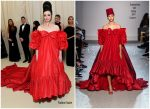 Laura Donnelly  In Giambattista Valli @ 2019 Met Gala