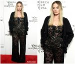 Margot Robbie In Chanel @ Dreamland  Tribeca  Film Festival Screening