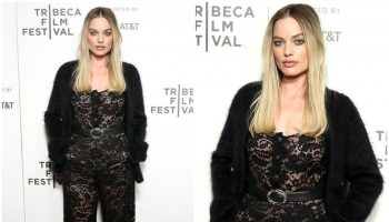 margot-robbie-in-chanel-dreamland-tribeca-Film Festival- screening