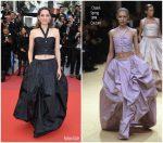 """Marion Cotillard  In Chanel  Haute Couture  @ """"Le Belle Époque"""" Cannes Film Festival Premiere"""