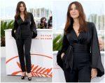 """Monica Bellucci  In Alexandre Vauthier   @ """"Les Plus Belles Annees D'Une Vie"""" Cannes Film Festival Photocall"""