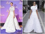 Naomi Scott in Off-White @ 'Aladdin' Paris Premiere