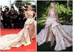 """Natasha Poly In Atelier Versace  @ """"Oh Mercy! (Roubaix, Une Lumière)""""  Cannes Film Festival Premiere"""