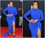 "Niecy Nash  In  Jovani  @ ""When They See Us"" New York Premiere"