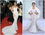 "Olivia Culpo In Ralph and Russo @""Sibyl""Cannes Film Festival Premiere"
