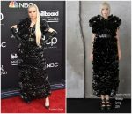 Poppy In Moncler 6 Noir Kei Ninomiya  @ 2019 Billboard Music Awards