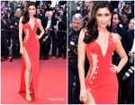Praya Lundberg in Versace @ 'Rocket Man' Cannes Film Festival Premiere