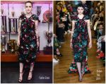 "Rachel Brosnahan   In Erdem @ 2019 Met  Gala "" Gucci"" After Party"