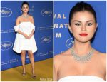 Selena Gomez  In Louis Vuitton  @ 2019  Cannes Film Festival  Gala Dinner