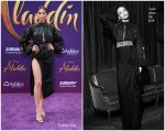 Shanina Shaik  In Galia Lahav @ Aladdin Hollywood Premiere