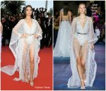 "Shanina Shaik  In Zuhair Murad  Couture @ ""Sibyl""  Cannes Film Festival Premiere"