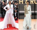 Sonam Kapoor In Ralph & Russo Couture @ 'Once Upon a Time In Hollywood' Cannes Film Festival Premiere