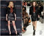 Sophie Turner in Louis Vuitton @ 'X-Men: Dark Phoenix' Press Conference