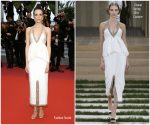 "Stacy Martin In Chanel  Haute Couture @ ""Sibyl""   Cannes Film Festival Premiere"