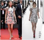 """Stacy Martin  In LouisVuitton  @ """"Oh Mercy! (Roubaix, Une Lumière)""""  Cannes Film Festival"""