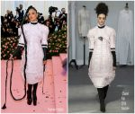Tessa Thompson In Chanel Couture @ 2019 Met Gala