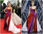 """Toni Garrn  In Ralph and Russo @ """"Les Plus Belles Annees D'Une Vie""""Cannes Film Festival Premiere"""