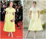 """Valerie Pachner  In  Chanel @ """"Once Upon a Time in Hollywood"""" Cannes Film Festival Premiere"""
