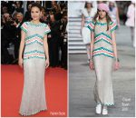 "Virginie Ledoyen In Chanel @  ""The Dead Don't Die"" Cannes Film Fesival  Opening Premiere"